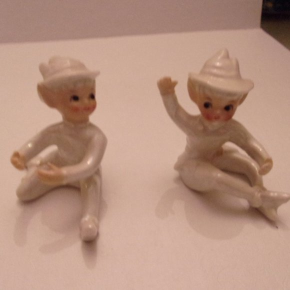 Other - 2 ANTIQUE ELVES. WS